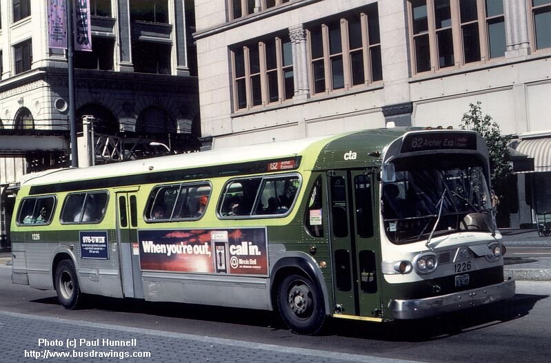 1226 is seen operating on a route 62 ...