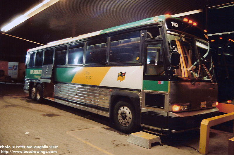 Saskatchewan Transportation Motor Coach Industries 102c3